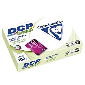 Papier laser couleur DCP Green A4, 100 g/m2, blanc, paq. 500feuilles