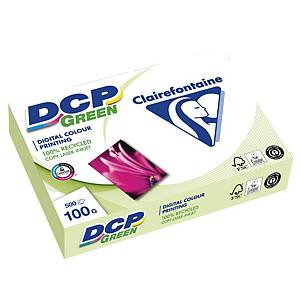Återvunnet papper för färgutskrift DCP Green, A3, 100 g, 500 ark per bunt