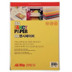 PK25 DOOSUNG P4 PAPER A4 80G YELLOW