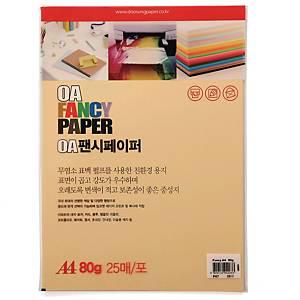 PK25 DOOSUNG P7 PAPER A4 80G PEANUT