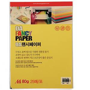 PK25 DOOSUNG P49 PAPER A4 80G D/YELLOW