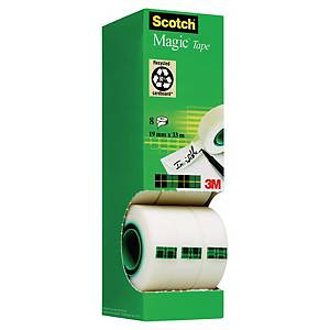 Scotch 810 Magic teippi 19mm x 33m, 1 kpl=8 rullaa