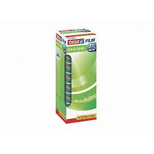 Klebefilm Tesa tesafilm 57074 eco & clear, ökologisch, 19mm x 33m, 7+1 Stück