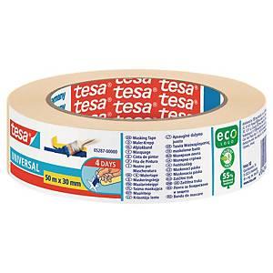 Nastro adesivo in carta Tesa Eco L 50 m x H 30 mm