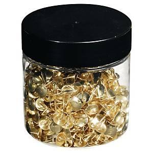 Excompta punaises en cuivre - La boîte de 750
