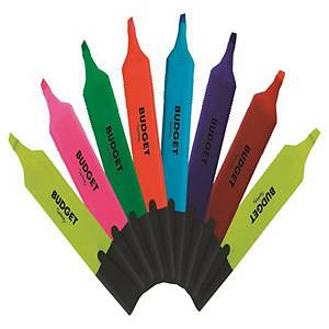 리레코 LYRECO BUDGET 형광펜 8색 세트 (5개 구매시 다스구성)