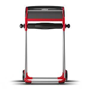Bodenständer Tork 652008/W1, 646x1006x530mm, rot/ schwarz
