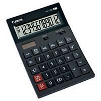 Calculatrice de bureau Canon AS-1200, affichage de 12chiffres, noir