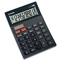 Calculatrice de bureau Canon AS-120, affichage de 12chiffres, noir