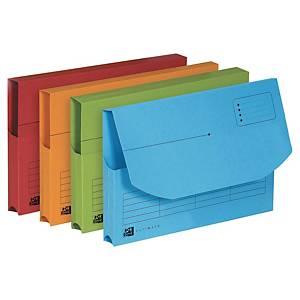 Dokumentmappe Elba, assorterede farver, pakke a 25 stk.