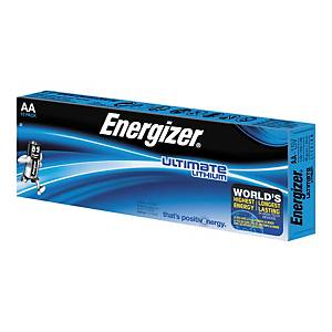 Pack de 10 pilhas Energizer Ultimate Lithium AA/LR06