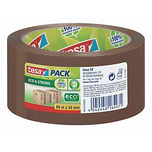 Packband tesapack Tesa 58154, Eco + Strong, 50mm x 66m, braun