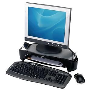 Fellowes Smart Suites Plus monitorstandaard voor flatscreen, zwart/grijs