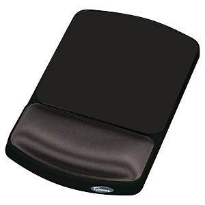 Fellowes 9374001 height adjustable mouse pad wrist support graphite