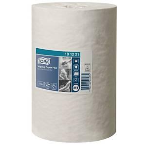 Papier d essuyage Tork Plus mini pour M1 - 2 plis - blanc - 11 bobines