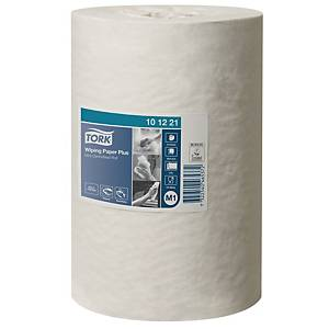 Tork M1 White Mini Centrefeed 2 Ply Wiping Paper Roll 75M - Pack of 12
