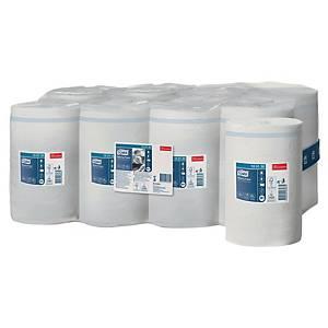Papier d essuyage Tork Economique Mini pour M1 - 1 pli - blanc - 11 bobines