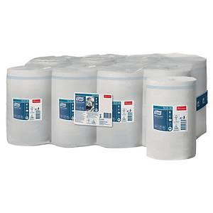 Pack 11 bobinas toalhas mãos Tork Advanced M1 - 120 m - folha simples - branco
