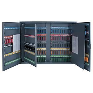 Boîte à clés Pavo, 300 crochets, serrure à cylindre, anthracite