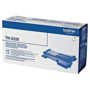 Tóner láser Brother TN-2220 - negro