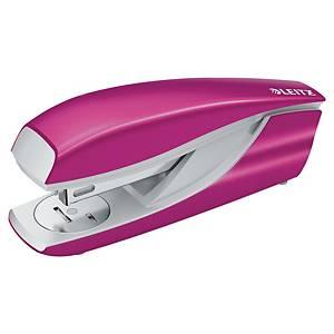 Leitz Wow Half-Strip Stapler Pink