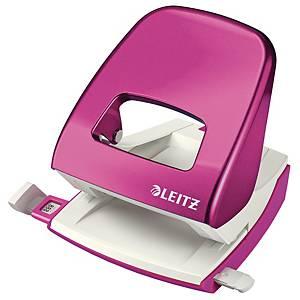 Hulapparat Leitz 5008 WOW, 2 huller, pink