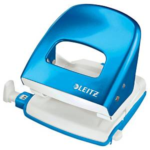 Furador de secretária Leitz Wow 5008 - 2 furos - azul