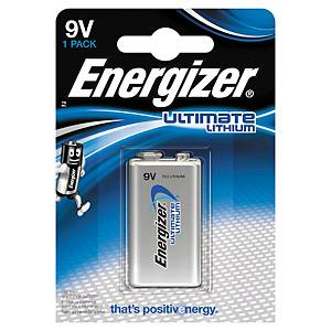 Pack de de 1 pile L522 9V Energizer ultimate lithium 633287