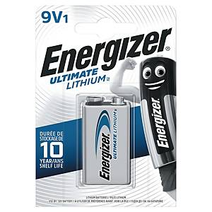 BATTERI ENERGIZER ULTIMATE LITIUM 9 V