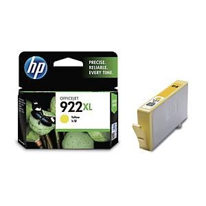 HP922XL CN029AA INK JET CART YELLOW