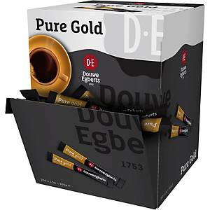 Café soluble Douwe Egbert Pure Gold - boîte distributrice de 200 sticks