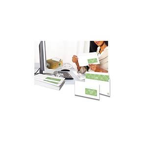 Enveloppe Premium recyclée 110 x 220 - 90 g siliconée fenêtre 45 x 100 - par 500