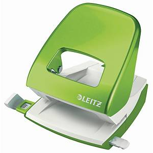 Hulapparat Leitz 5008 WOW, 2 huller, grøn