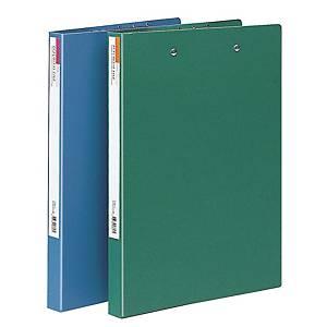 문화 수입지 레버클립 파일 더블 F335-7 A4 파랑