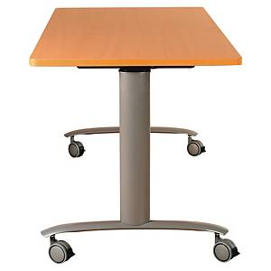Table abattante Buronomic - 140 x 70 cm - hêtre
