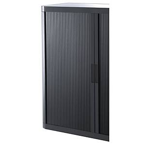 PAPERFLOW CUPBOARD DOOR BLACK/BLACK