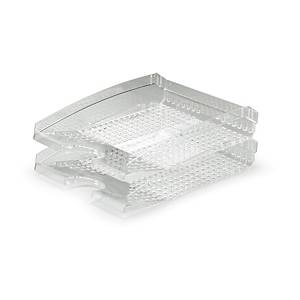 DURABLE TREND LETTER TRAY TRANSPARENT