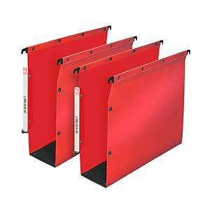 Dossier suspendu pour armoire Elba Ultimate - PP - dos 80 mm - rouge - par 10