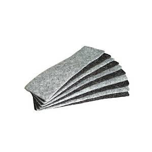 Bi-Office pót törlőfilcek mágneses táblatörlőbe 10 darab/csomag