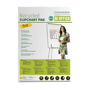 Bi-Office Earth Flipchart-Block, blanko, 99 x 66 cm, 20 Blatt