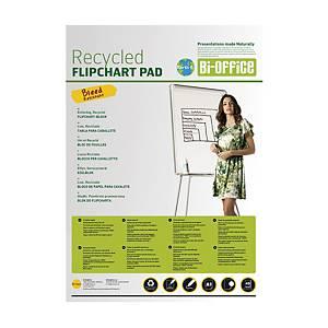 Flipchartový blok Bi-Office Earth, čistý, 99 x 66 cm, 20 listů