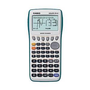 Calculatrice graphique Casio Graph 35+E - 10+2 chiffres - blanc/vert