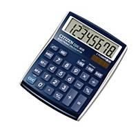 Calculatrice de bureau Citizen CDC-80, affichage de 8chiffres, bleu