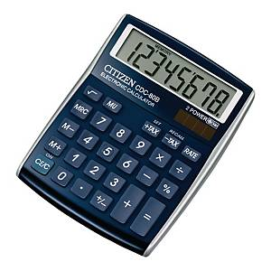 CITIZEN CDC-80  CALCULATOR 8 DIGITS BLUE