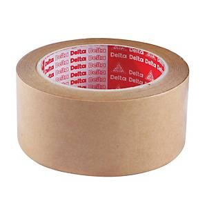 DELTA เทปกระดาษคราฟท์กาวในตัว 1.5 นิ้ว x 30 หลา แกน 3 นิ้ว น้ำตาล