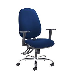 Jota Ergo High Back Managers Chair Blue - Delivery Only