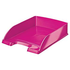 Leitz 5226 Wow letter tray pink