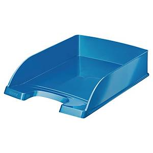 Briefkorb Leitz WOW, A4, blau metallic