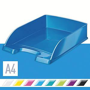 Leitz Wow 5226 A4 Letter Tray Blue