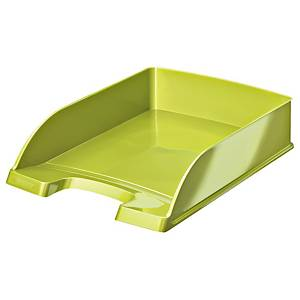 Leitz 5226 Wow letter tray green